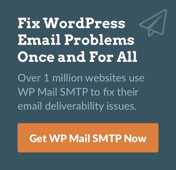 Get WP Mail SMTP Now