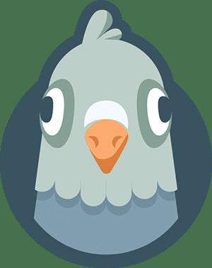 WP Mail SMTP Pigeon Mascot