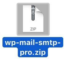 WP Mail SMTP pro zip file