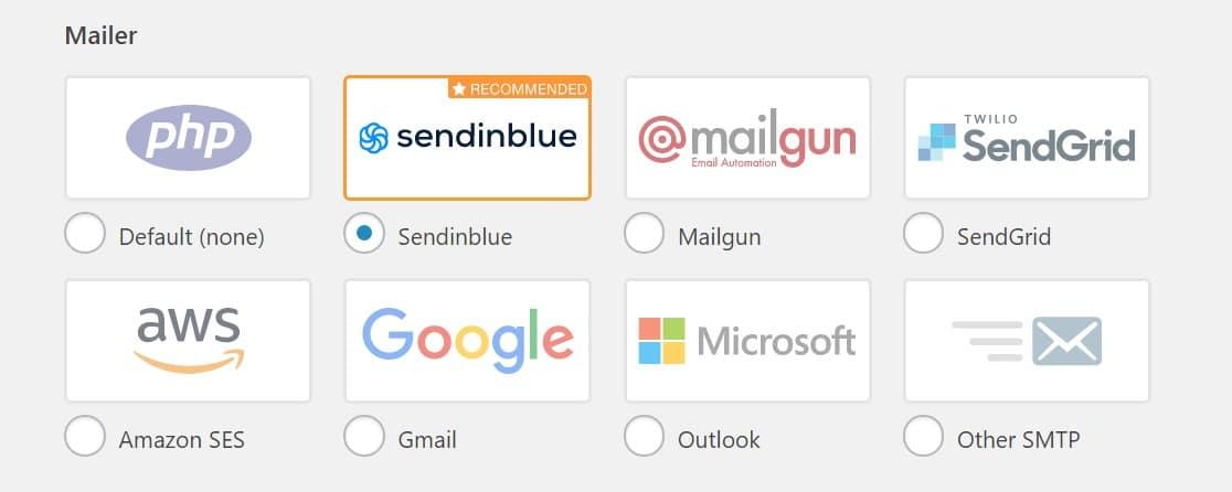 sendinblue mailer