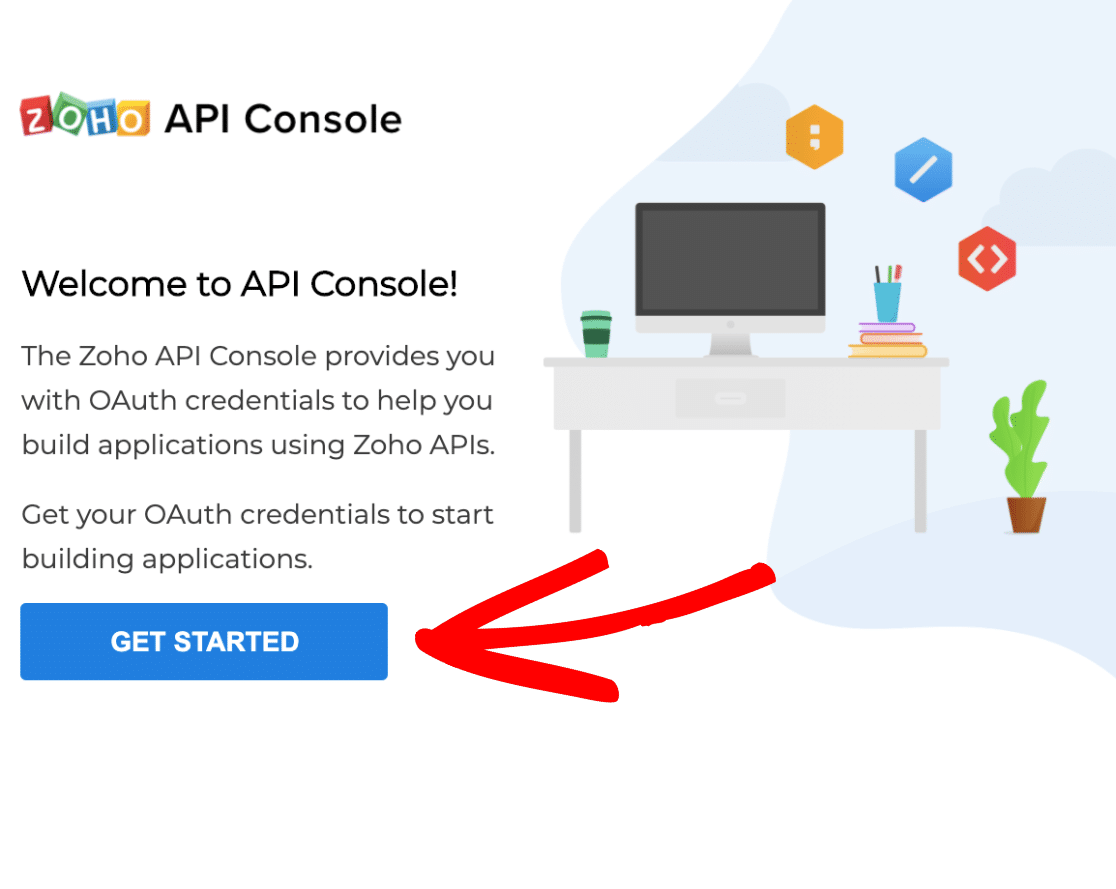 Connect to Zoho API