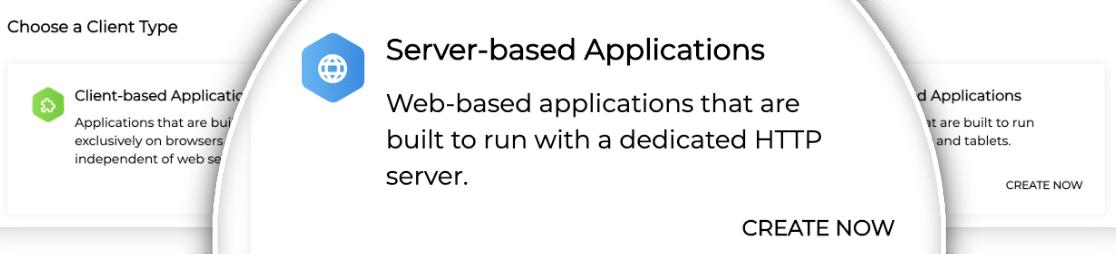 Server Based Application in Zoho
