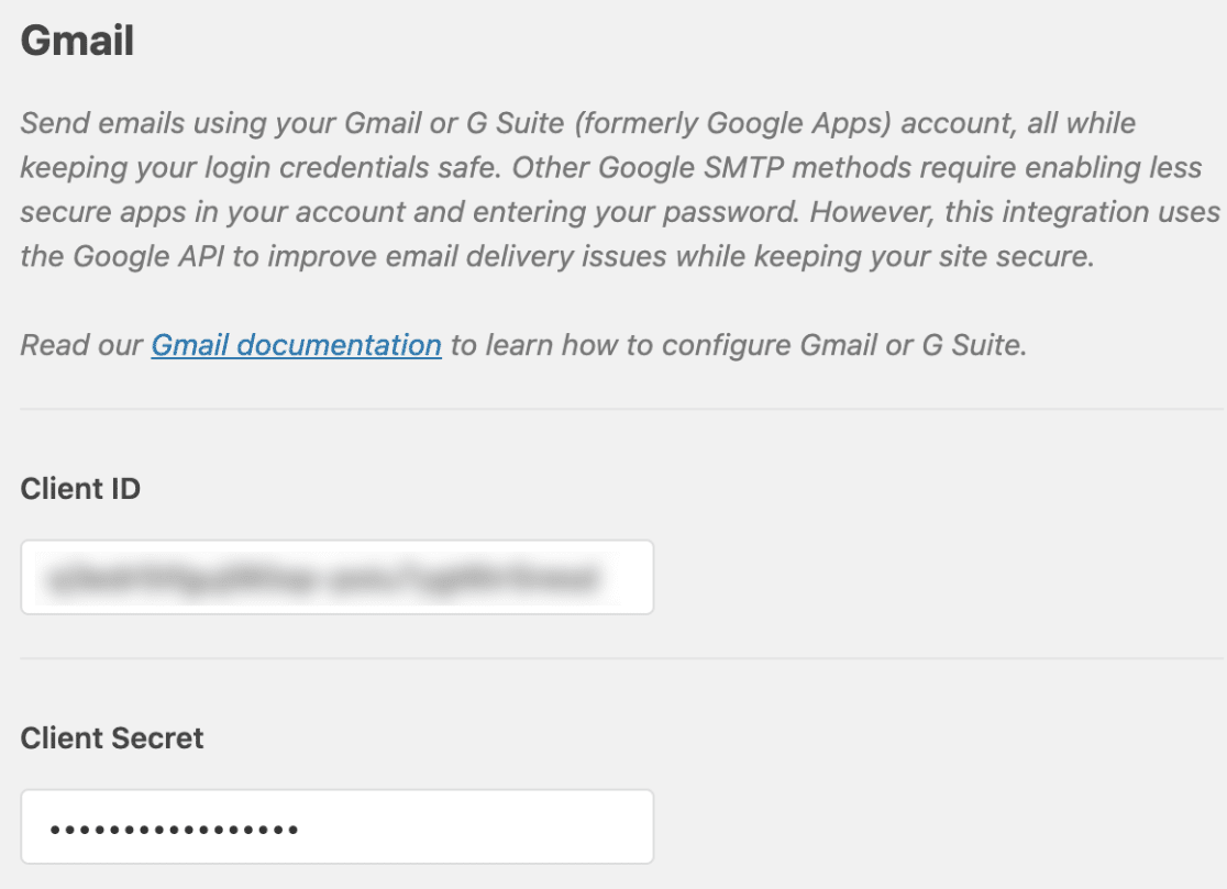 Client ID and Client Secret in Gmail Mailer