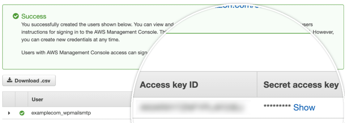 Access Key ID and Secret Access Key in AWS