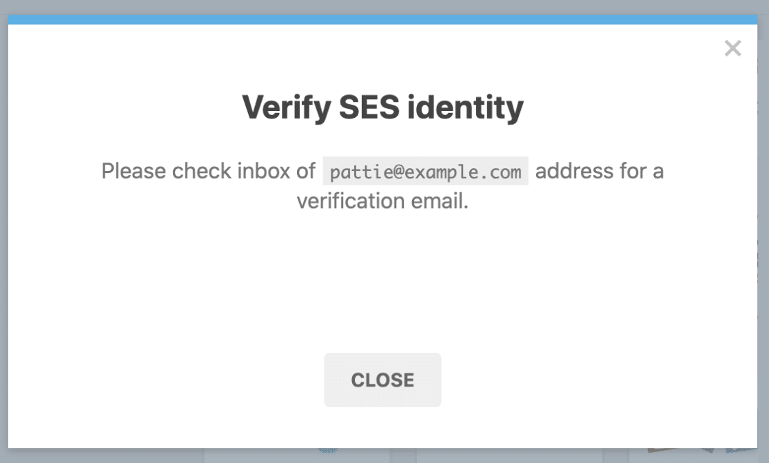 Verify sending email address for WP Mail SMTP