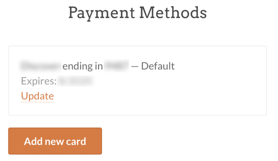 Payment Methods in WP Mail SMTP account
