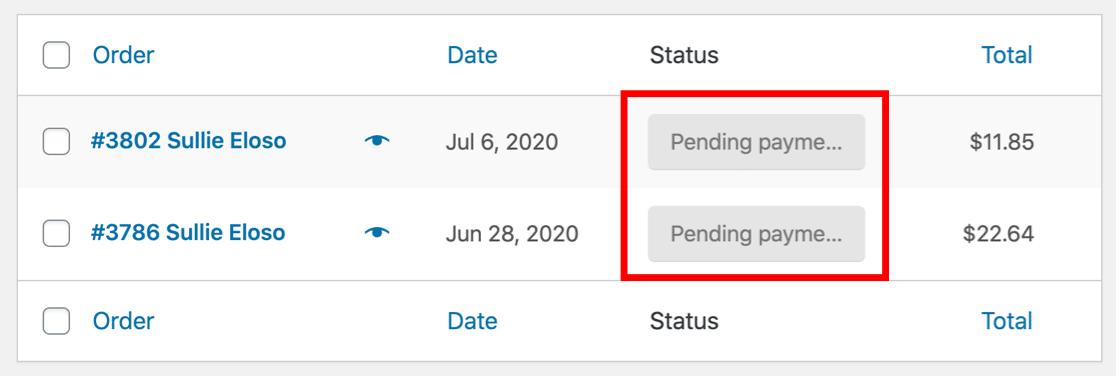 woocommerce-not-sending-email-status