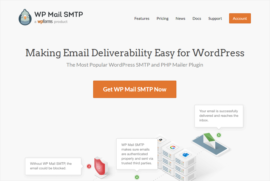 wpmailsmtp homepage
