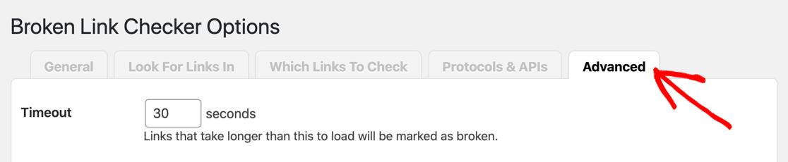 Check Advanced options if Broken Link Checker not sending email