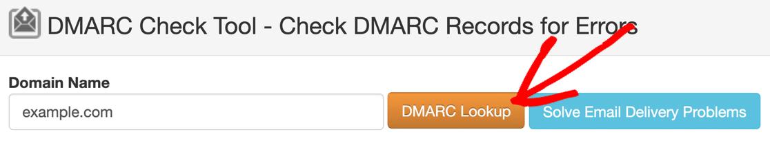 DMARC lookup