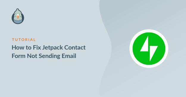 Fix Jetpack contact form not sending email