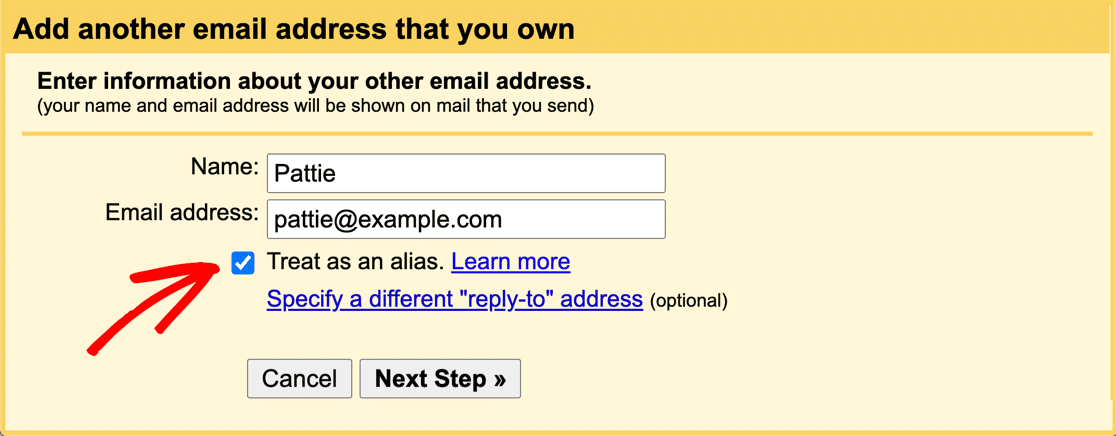 Add new From address in Gmail or G-Suite