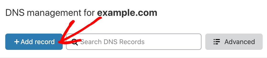 Add a DMARC record in Cloudflare