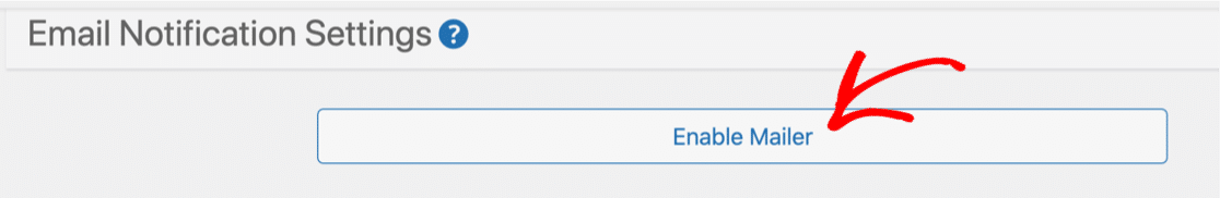 Enable Mailer to fix Caldera Forms not sending email