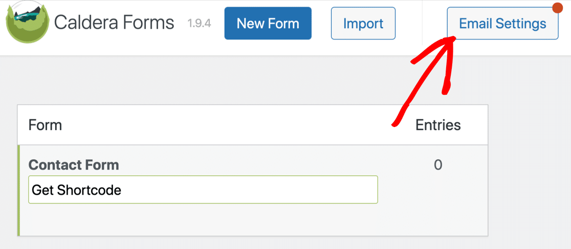 Fix Caldera Forms not sending email by changing email settings