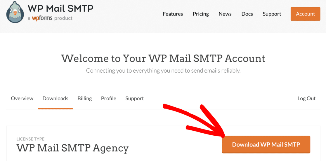 Download the WP Mail SMTP plugin
