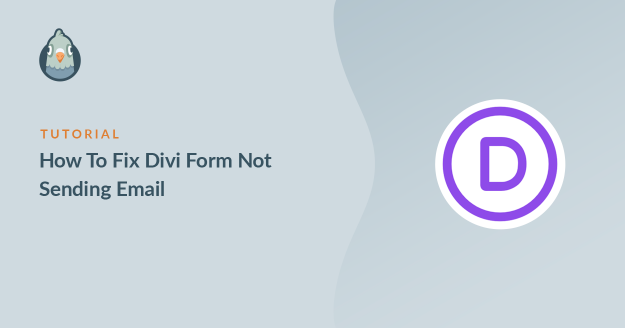 how to fix divi form not sending email