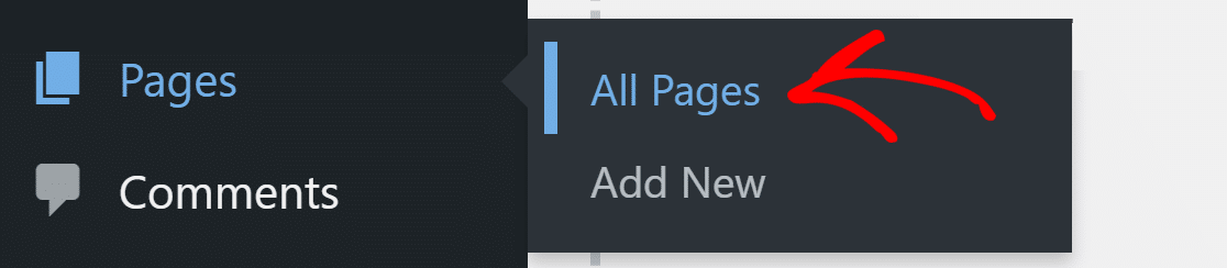 pages and click on all pages