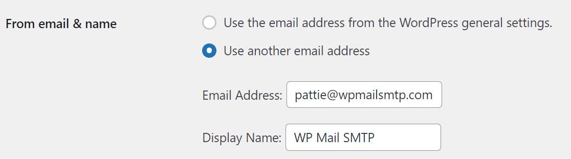 WP 2FA use custom email