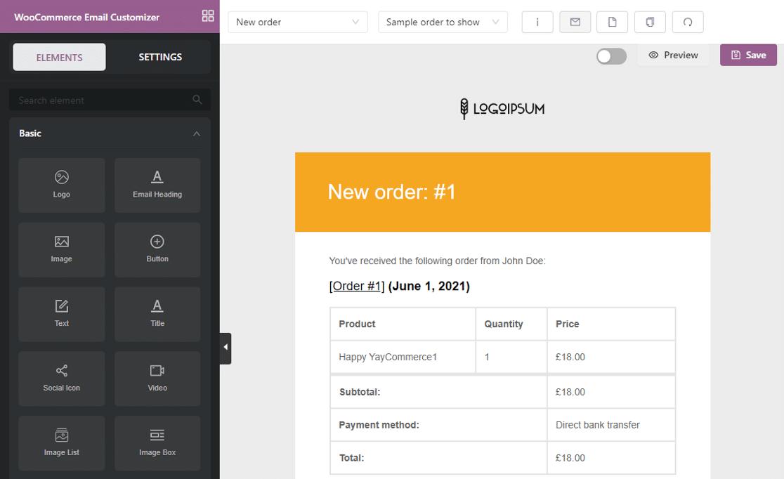 YayMail WooCommerce Email Customizer