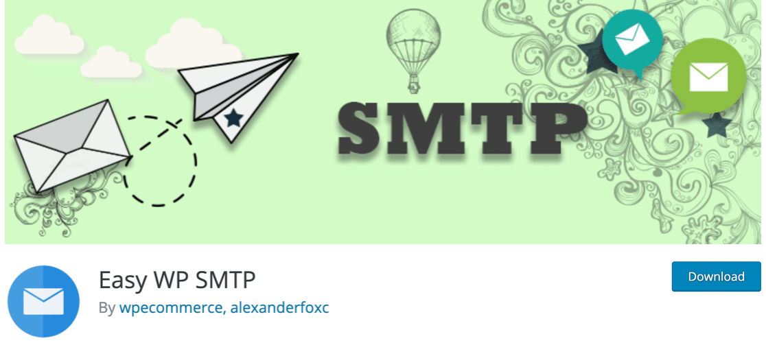 Easy WP Mail SMTP email plugin for WordPress