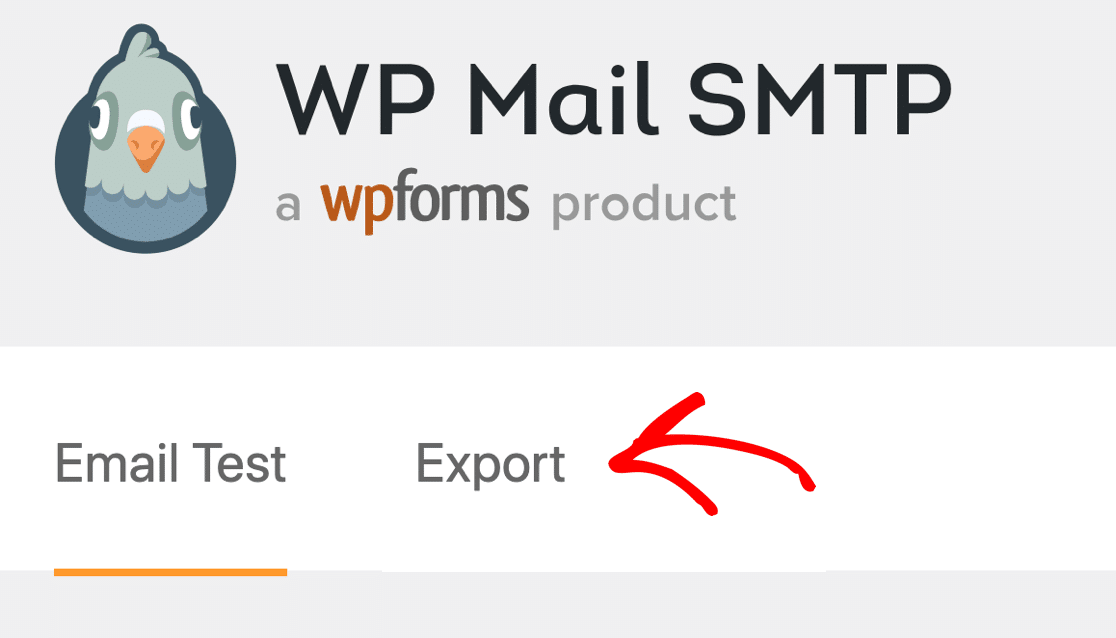 Export email log