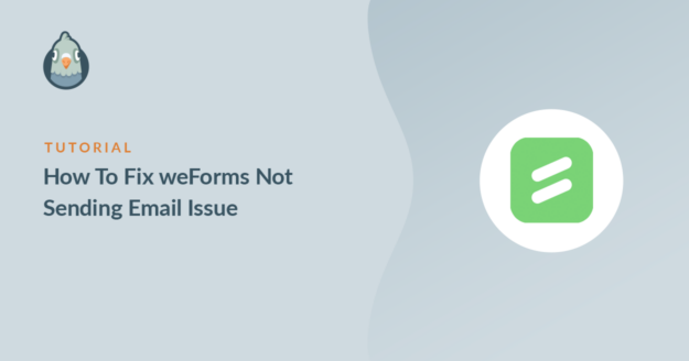 how to fix weforms not sending email issue