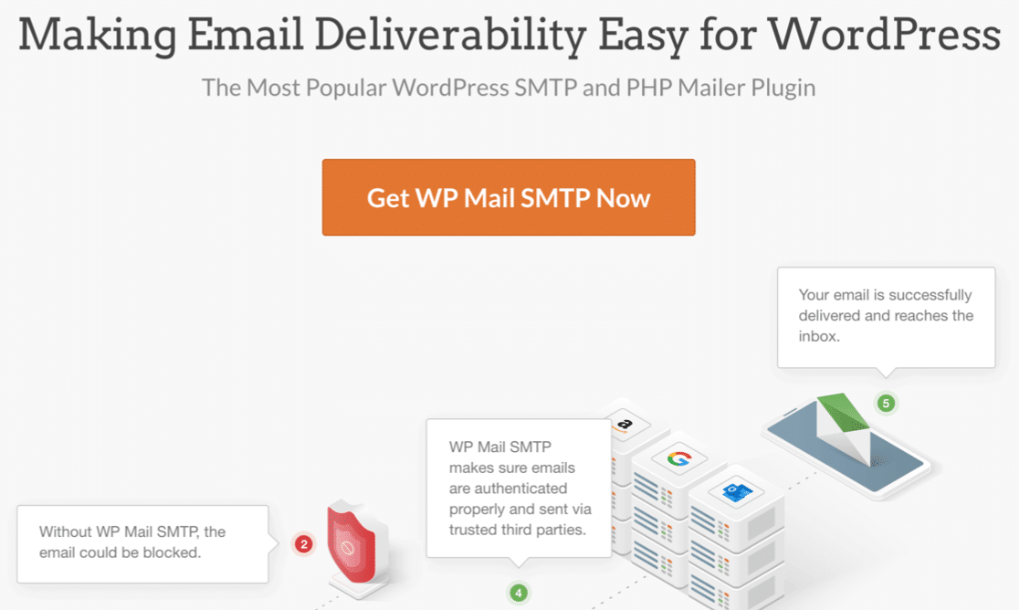 WP Mail SMTP email plugin for WordPress
