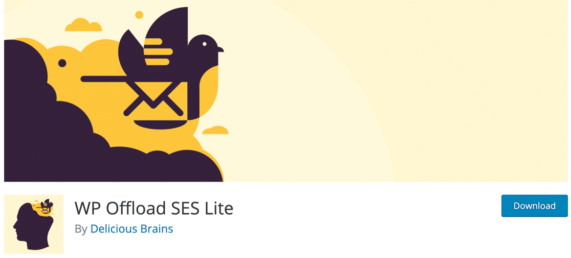 WP Offload SES email plugin for WordPress