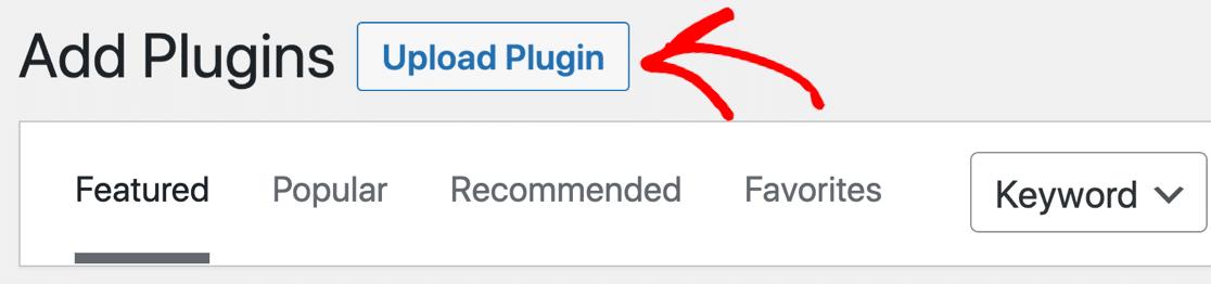 Add plugin button