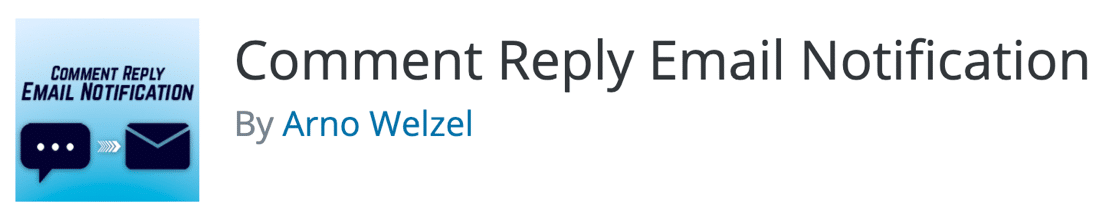 Comment Reply Email Notification plugin