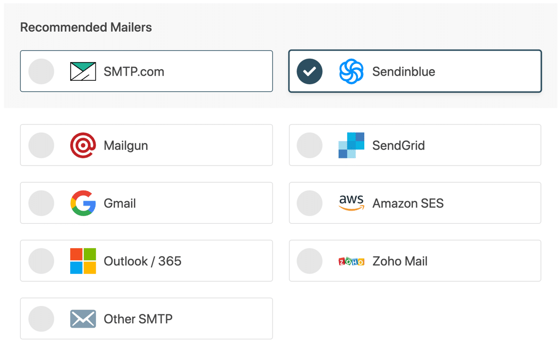 Choose an email service provider for WordPress SMTP