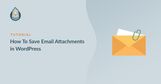 Save WordPress email attachments