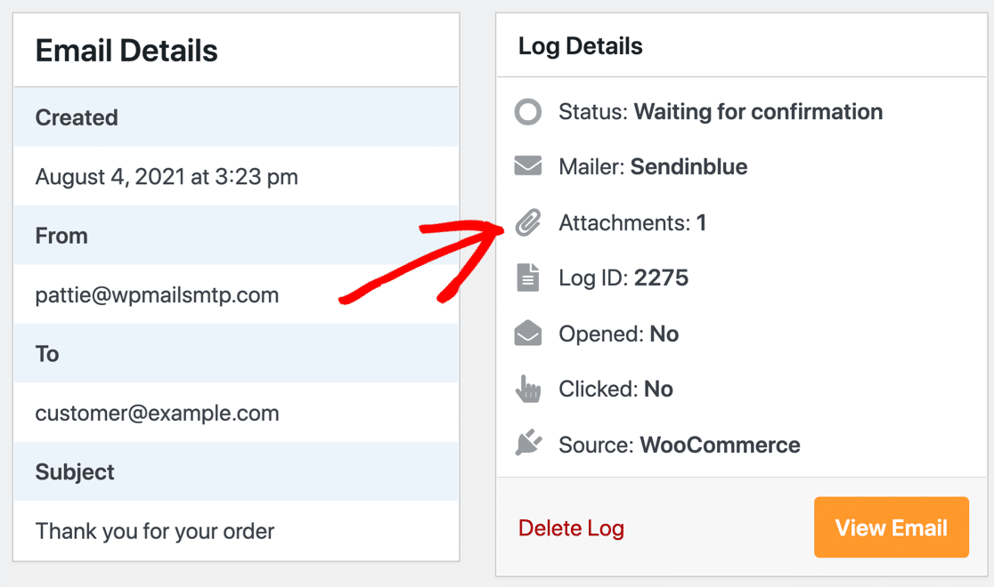 WooCommerce order email invoice attachment
