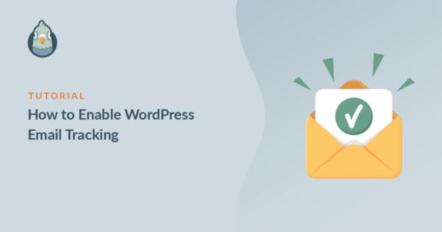 WordPress email tracking