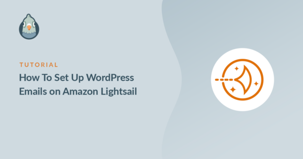 WordPress emails on Amazon Lightsail