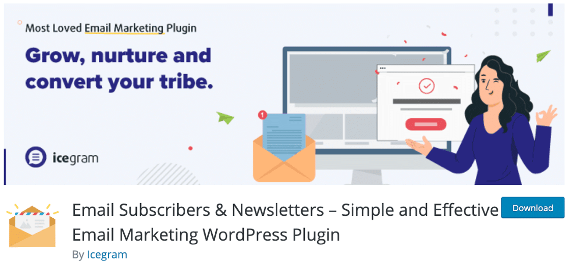 Email Subscribers and Newsletters Plugin