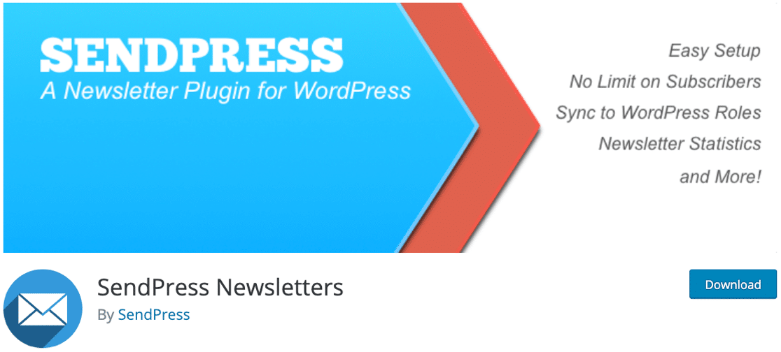 SendPress newsletter plugin