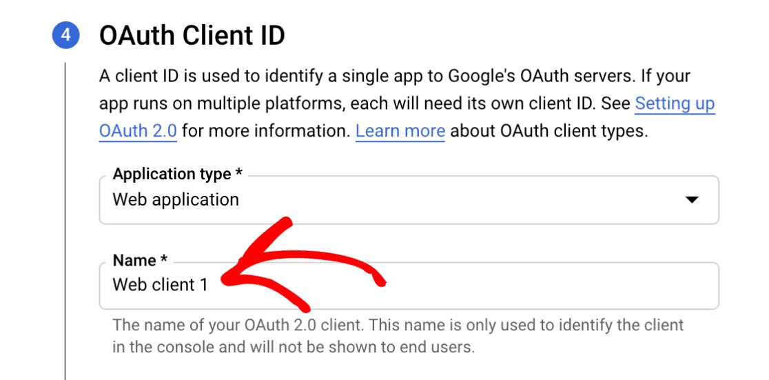 OAuth name