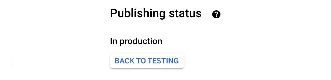 Production-publishing-status