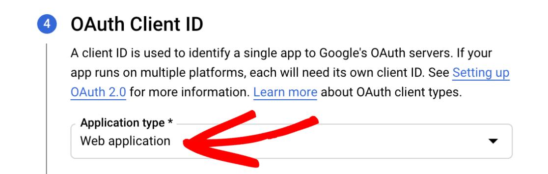 Select web application